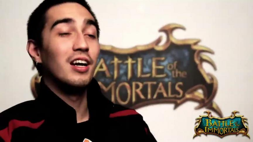 "Présentation des ""events"" de Battle of the Immortals"