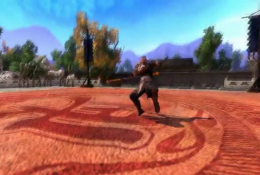 Le maniement du bâton dans Butterfly Sword Online