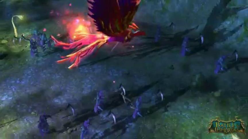 Bande-annonce de lancement de Battle of the Immortals (VF)