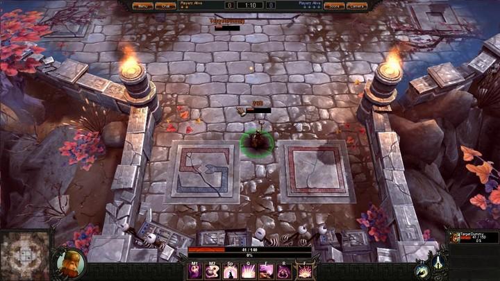 Le gameplay de l'Alchemist de Bloodline Champions