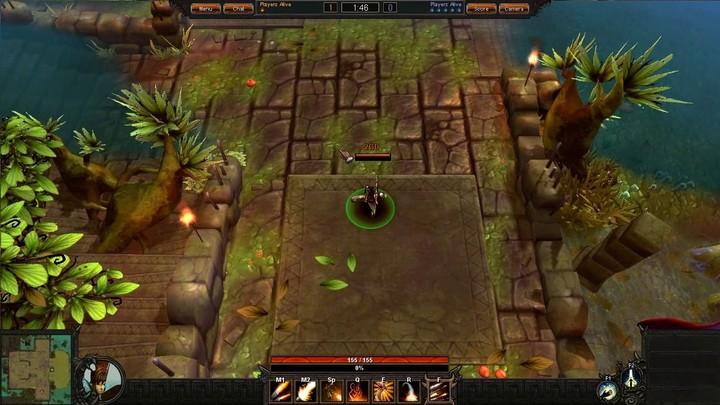 Le gameplay du Gunner de Bloodline Champions