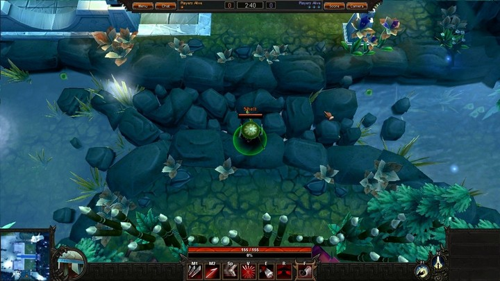 Le gameplay du Spear master de Bloodline Champions
