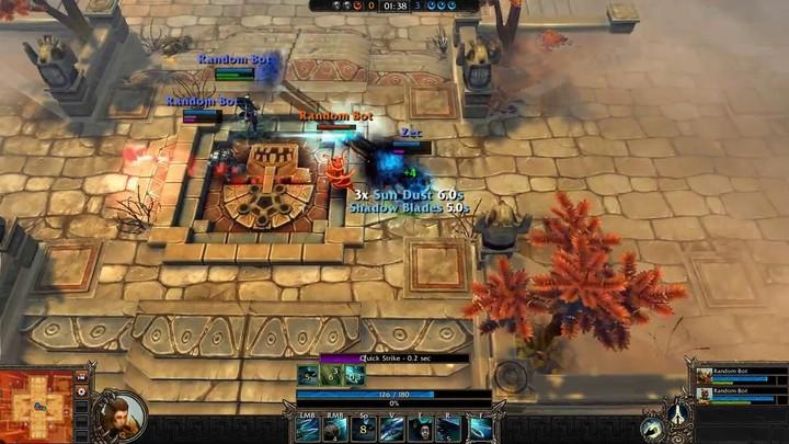 Le gameplay du Stalker de Bloodline Champions