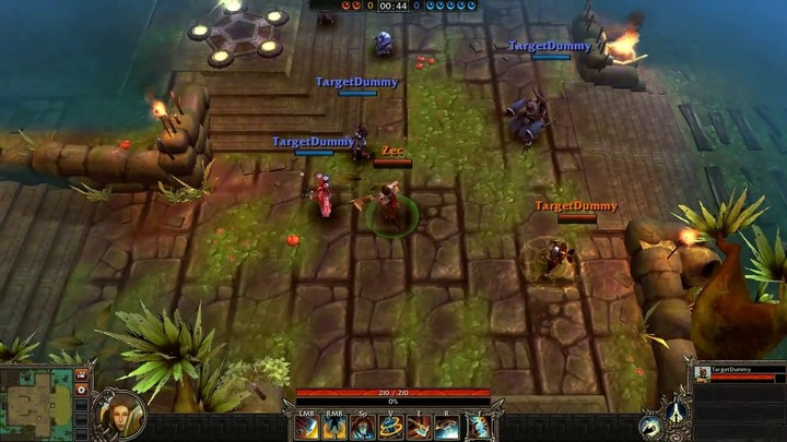 Le gameplay du Guardian de Bloodline Champions