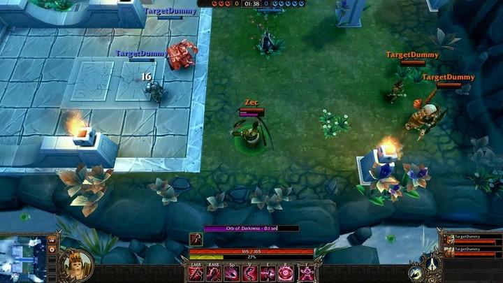 Le gameplay du Prêtre de Sang de Bloodline Champions