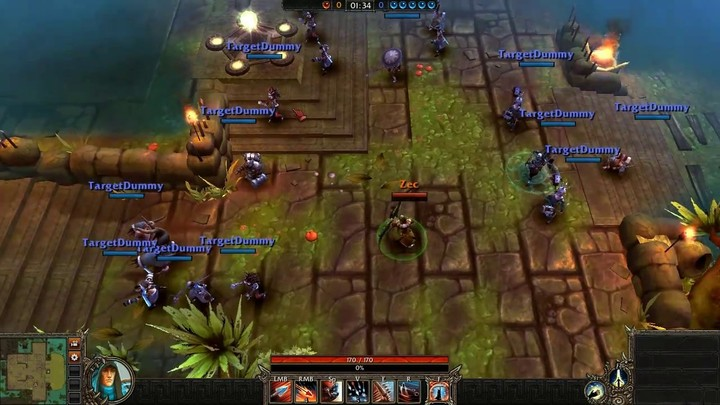 Le gameplay du Seeker de Bloodline Champions