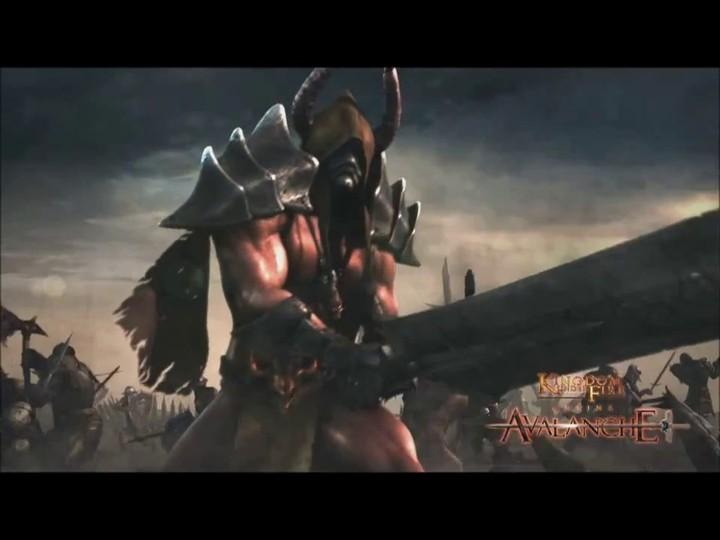 Bande-annonce cinématique de Kingdom Under Fire Online: Avalanche