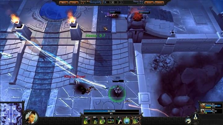 Le gameplay du Nomade de Bloodline Champions