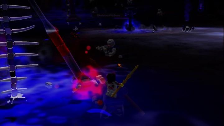 Scènes de combat dans la zone Crux Prime
