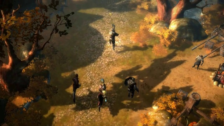 Le gameplay de Drakensang Online
