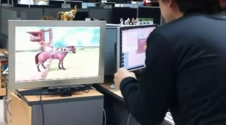 Prototype : Alicia décliné sur Kinect