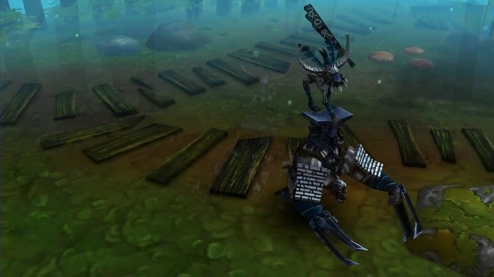 Aperçu du Grimrog de Bloodline Champions