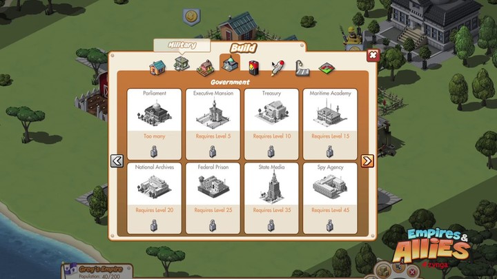 Présentation du gameplay d'Empires & Allies