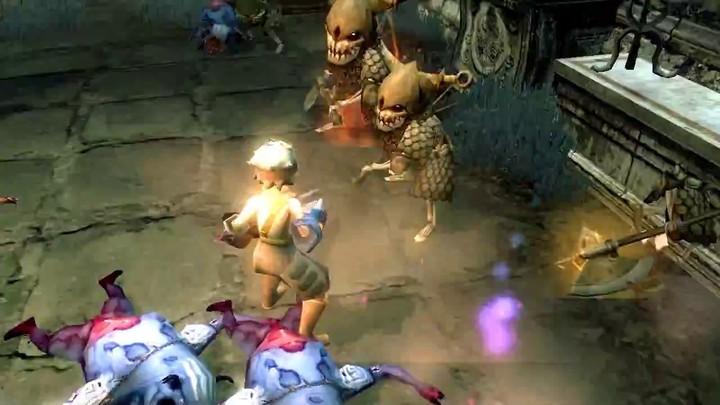 Le gameplay du guerrier de Dragon Nest