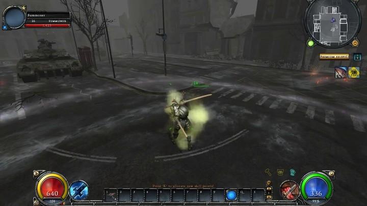 Le gameplay du Blademaster d'HellGate