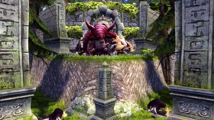 Aperçu de « Minotaur Nest », donjon de raid de Dragon Nest