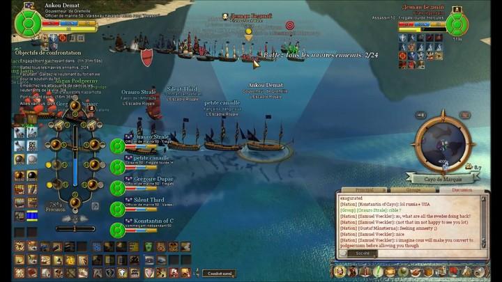 La Bataille de Cayo de Marquis de Pirates of the Burning Sea