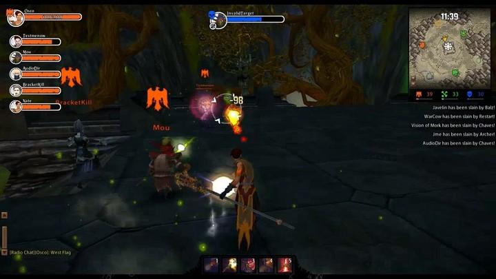 1 minute du gameplay de Wrath of Heroes