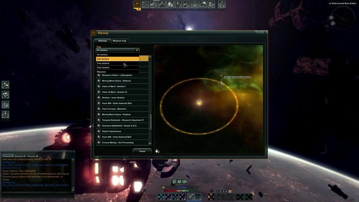 Tutorial Black Prophecy : les bases de l'interface