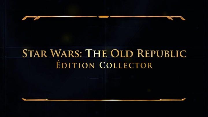 Présentation de l'édition collector de SWTOR