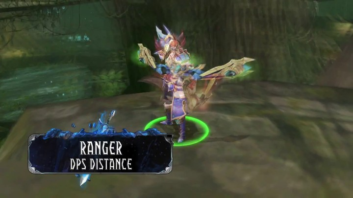Zoom sur le ranger de War of the Immortals