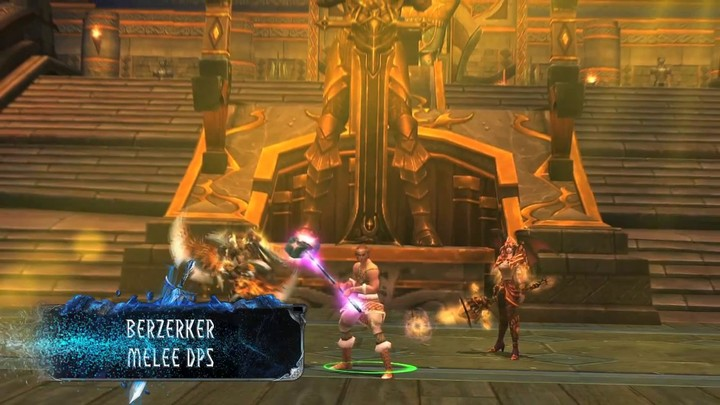 Zoom sur le Berserker de War of the Immortals