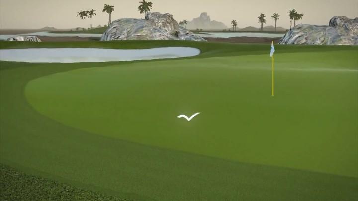 Tour Golf Online illustre ses graphismes