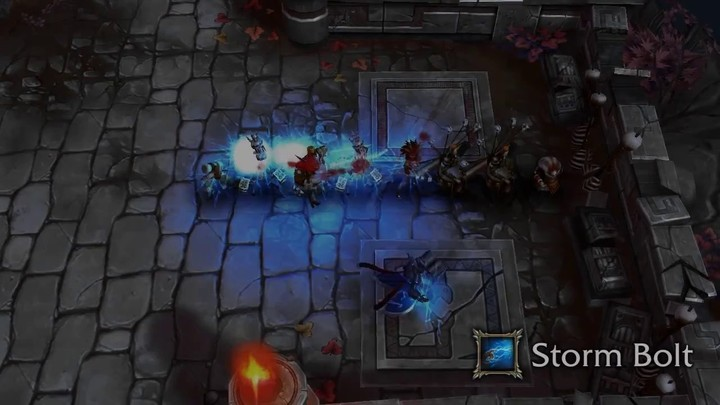 Le gameplay du Stormcaller de Bloodline Champions