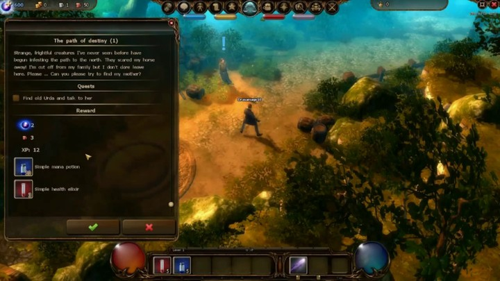 Débuter dans Drakensang Online #2 : Gameplay et interface