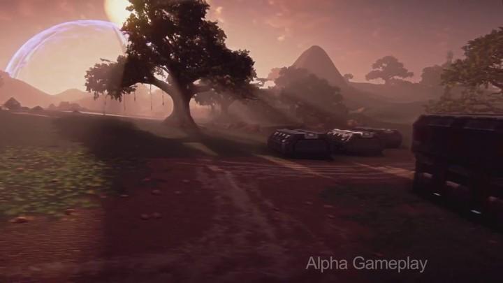 Gameplay de la version alpha de Planetside 2