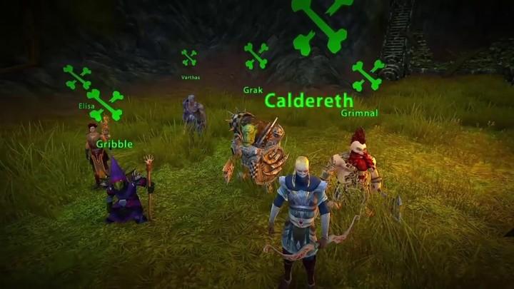 La ligne de front de Warhammer Online Wrath of Heroes