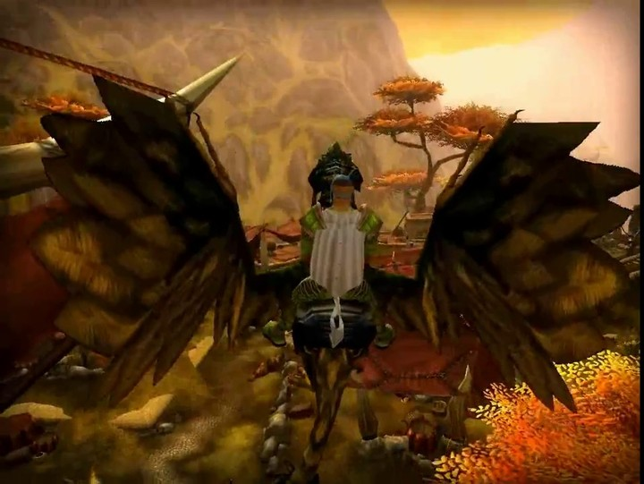 Aperçu des montures volantes d'Alganon