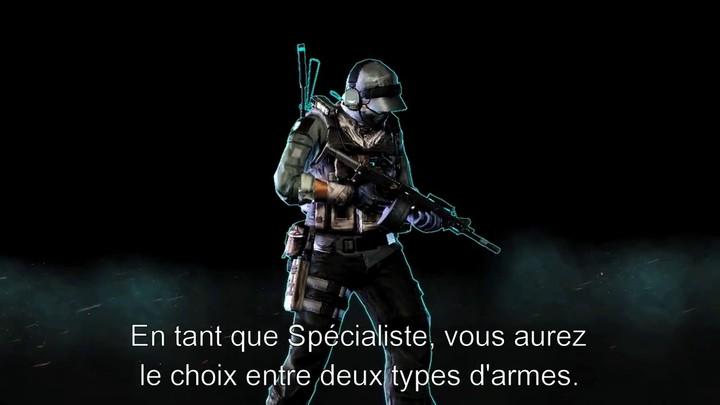 Le Spécialiste de Ghost Recon Online