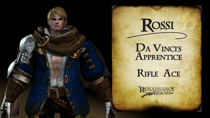Zoom sur Rossi, l'apprenti du MOBA Renaissance Heroes
