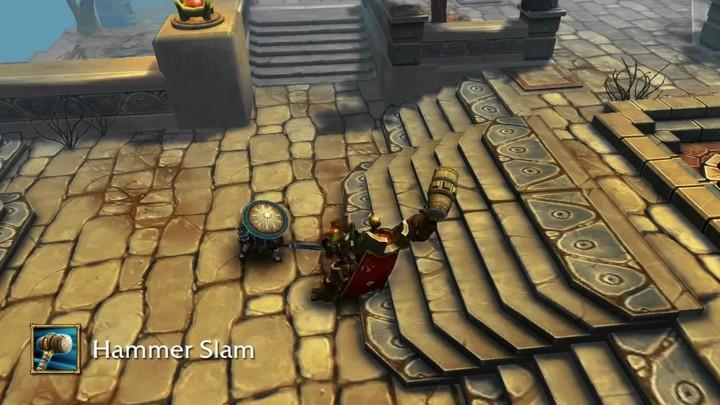 Aperçu du gameplay de la Sentinelle de Bloodline Champions