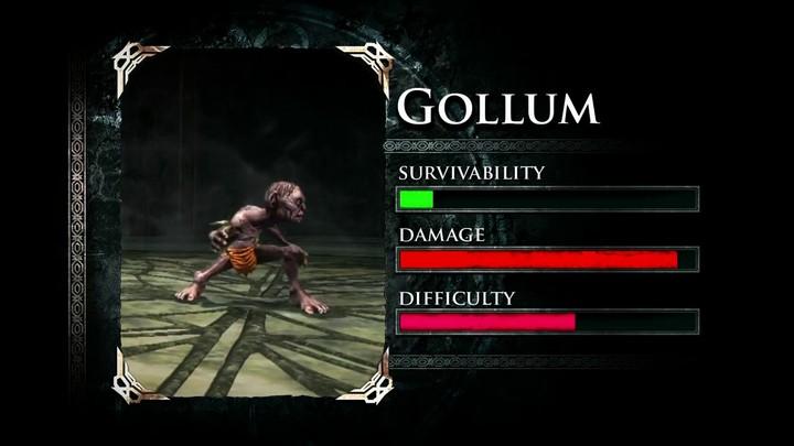 Profils des Gardiens de la Terre du Milieu : Gollum et Gandalf