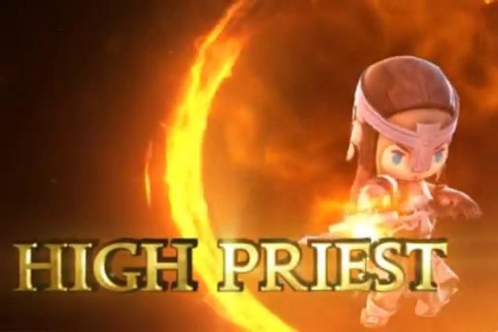 Présentation du haut prêtre de Dungeon Striker