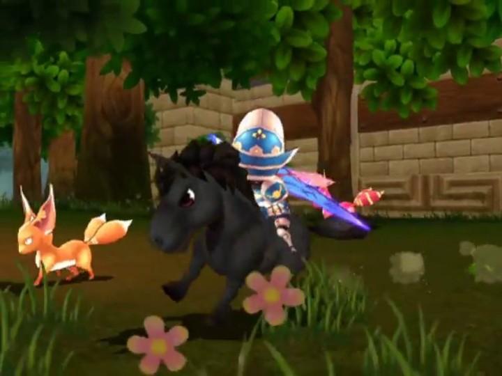 Le gameplay de Knight Age : les montures de combat