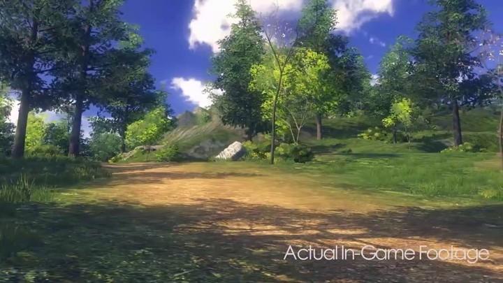TGC 2012 - Exploration du monde de Magic Sword Online (alpha)