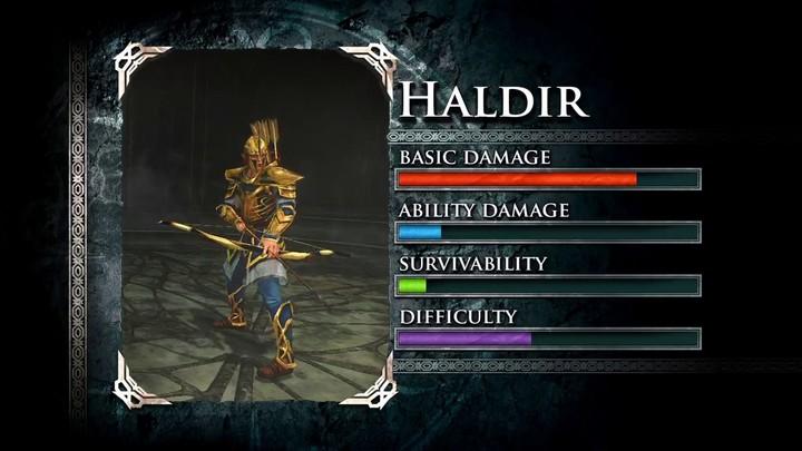 Profils des Gardiens de la Terre du milieu : Haldir et Lugbol