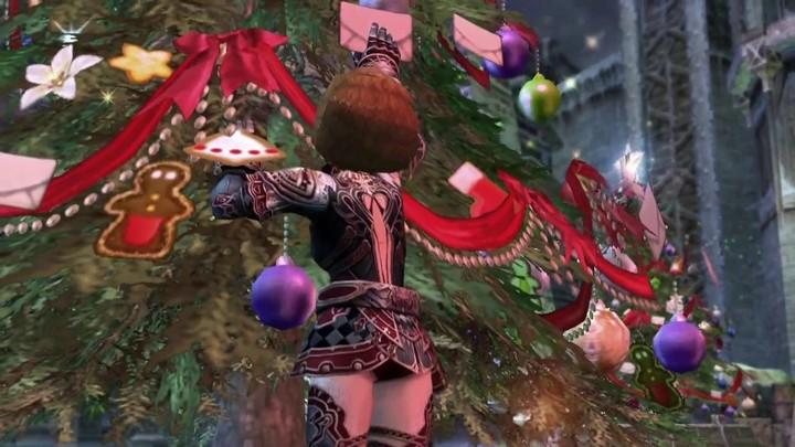 Noël anime Lineage 2