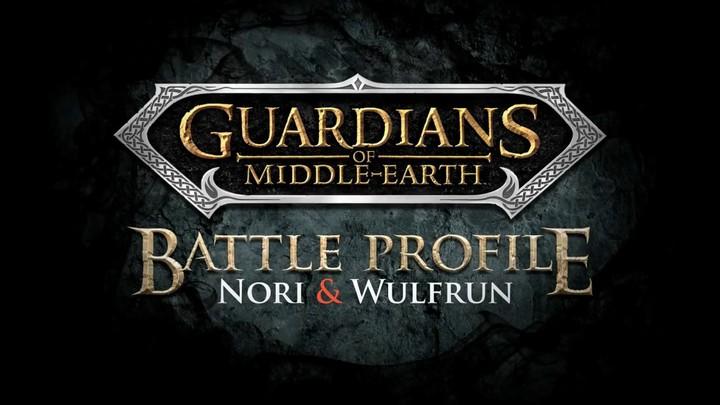Profils des Gardiens de la Terre du milieu : Nori et Wulfrun