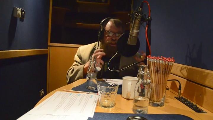 Session d'enregistrement avec Brian Blessed