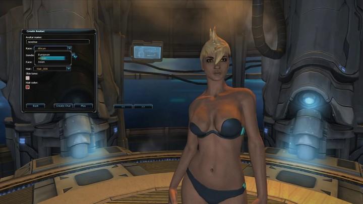 Alpha : la création de personnages d'Earthrise: First Impact