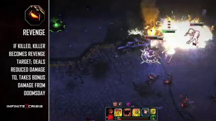 Champions du MOBA Infinite Crisis : Doomsday