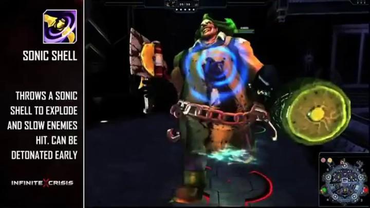 Champions du MOBA Infinite Crisis : Gaslight Batman