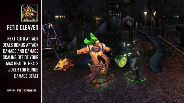 Champions du MOBA Infinite Crisis : Gaslight Joker