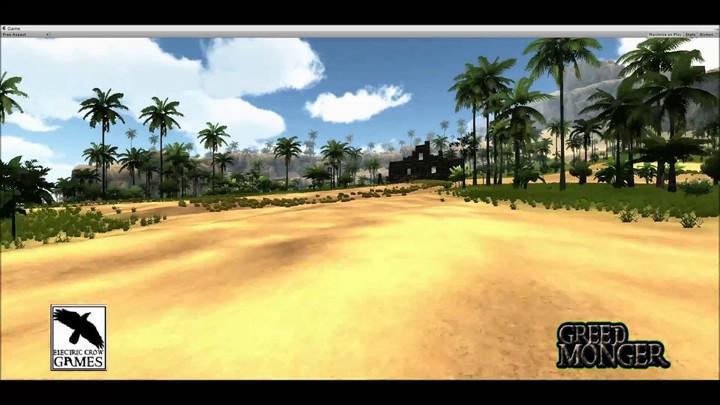 Aperçu d'une zone tropicale de Greed Monger