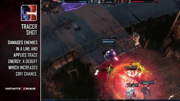 Champions du MOBA Infinite Crisis : Cyborg