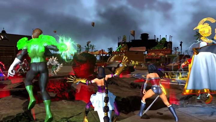 E3 2013 - Aperçu de la carte de Coast City du MOBA Infinite Crisis